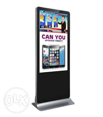 Kiosk Screen for Advertisement-Play pictures,Videos for Indoor show,Ex