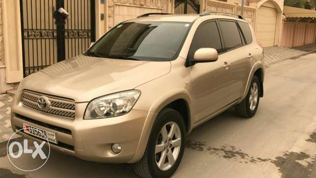 For Sale Toyota RAV4 Model 2008 K.m:120000