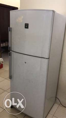 sharp refrigerator for sale well maintain good running conditions