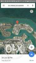 Land for sale in (Amwaj Island)Sandy beach