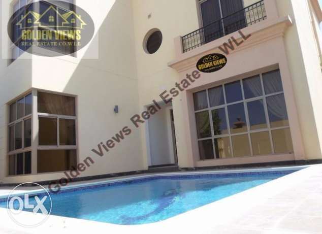 Hamala - 5 Bedroom semi furnished villa for rent with private pool