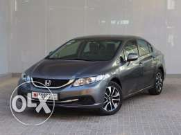 Honda CIVIC EXI Grey 2013 For Sale