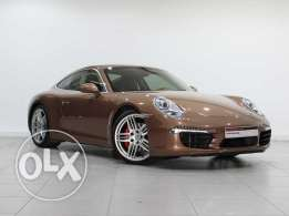 "Porsche 911 Carrera S, Cognac 2013MY ""Approved"""