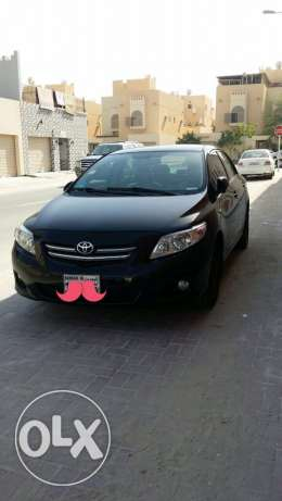 Toyota corolla 2008 Black colour