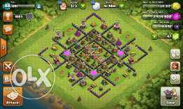 Clash of clans account Town hall level 8 almost MAXED
