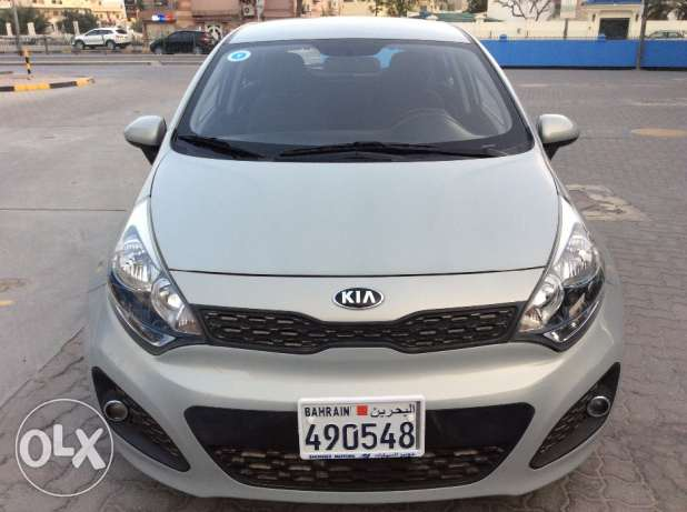 For Sale 2014 Kia Rio Hatch Back Bahrain agency