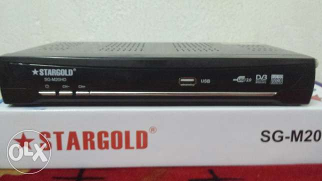 Star Gold Satellite TV Receiver