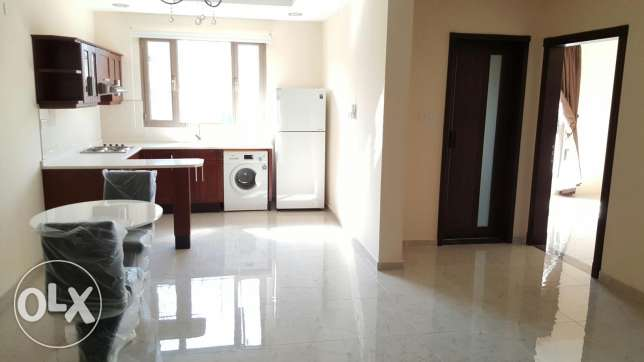 2 BHK flat/ semi furnished + balcony in a very good location