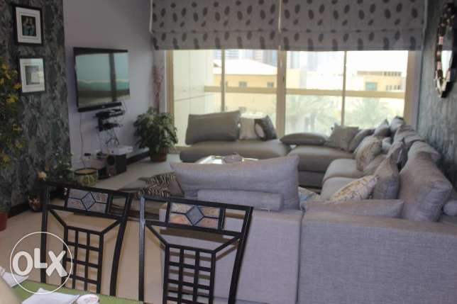 Beautiful 3 BR in Seef / Sea view / Balcony
