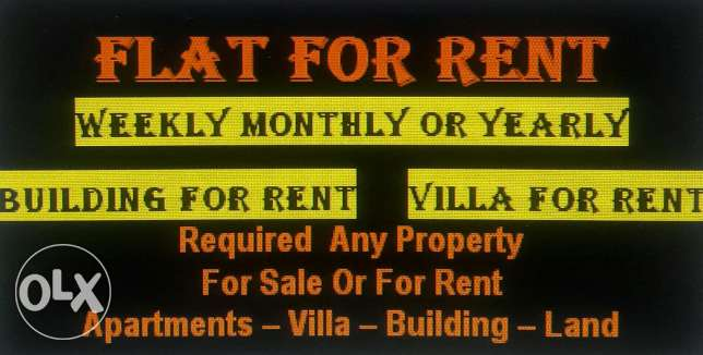 Falt for rent in new building in juffair for good and nice area falt f