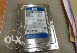 500 GB HDD Internal