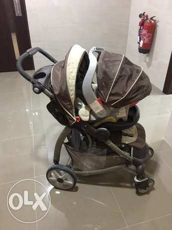 troly with car seat 45 bd