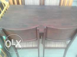 Dining table four chair