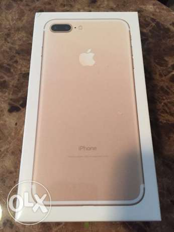 Brand apple 1phone 7 plus rose gold