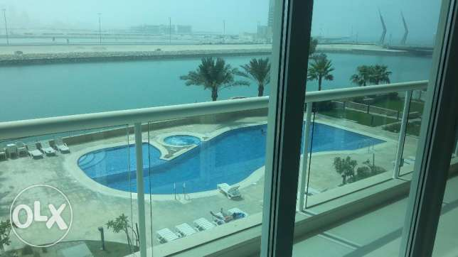 Extra Modern Sea view 2 BR in Seef / Balcony / Maids room