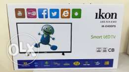 "NEW 40"" SMART LED TV boxpack with warranty 1 year"