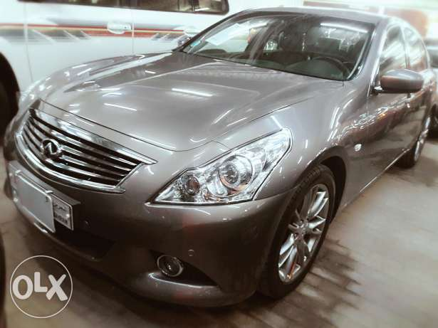 Infinity g37s model 2013 for sale in cash and installments