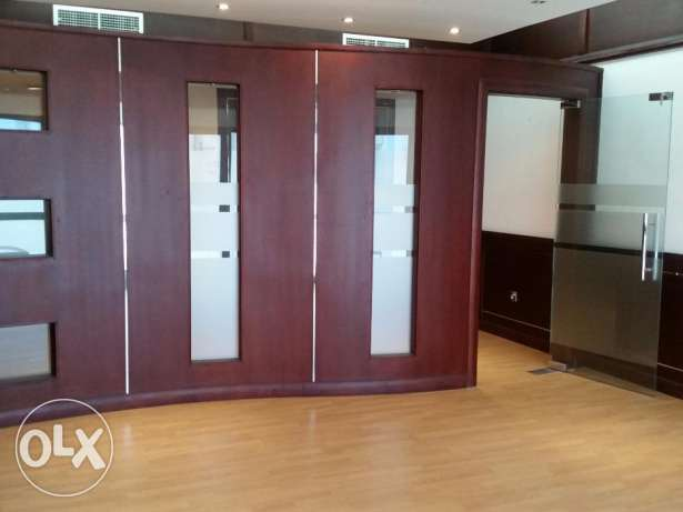 Nicely decorated attractive spacious office ready to occupy In Sanabis
