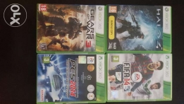 Four Original/rarely used XBOX 360 Games