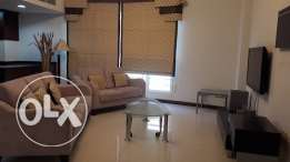 Fully furnished 2 bedrooms for rent in high class society of seef