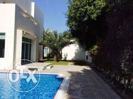 LUXURY 4 bedroom semi furnished compound villa with private pool