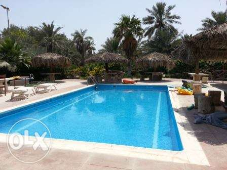 Semi furnished villa easy access to Saudi highway