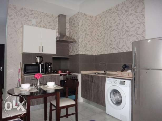 fully furnished flat for sale جزر امواج  -  1