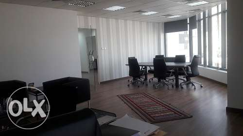 3 partioned room office space at Seef BD. 610/- Exc