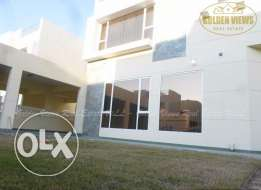 4 Bedroom semi furnished villa for rent with private pool ,garden