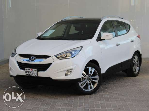 Hyundai Tucson 2015 White For Sale