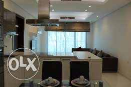 2 Bedroom amazing flat in Amwaj fully furnished