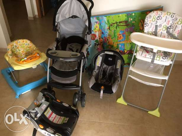 Baby stroller + other accesories