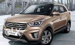 Hyundai Creta monthly 110 with zero down payment