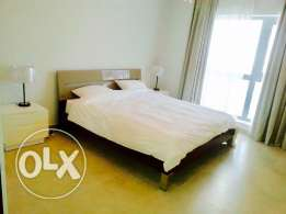 luxury one bedroom apartment in Zawia-3 . Amwaj-Island.