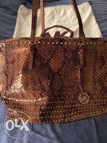MK leather bag
