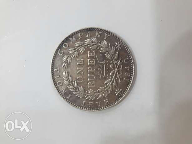 VICTORIA QUEEN rare silver one ruppes coin for sale