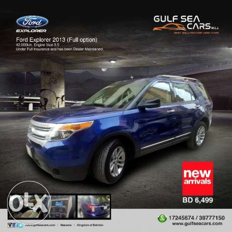 Ford Explorer 2013 (Full option)