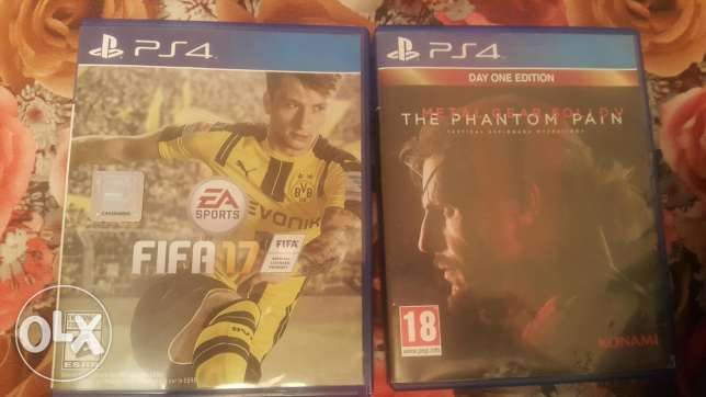 for sale fifa 17 and MGS5