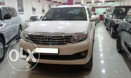 Toyota Fortuner, 2013, automatic, 93000 KM
