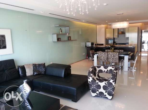 Luxurious 2 bedrooms with modern furniture and amazing Sea views