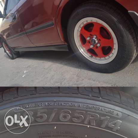 Rim with Tyre brand New