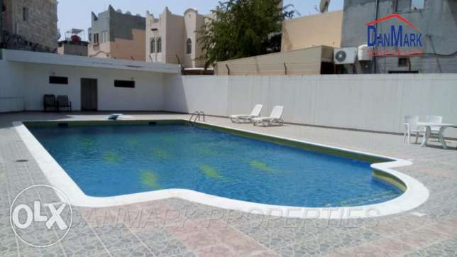 BARBAR 4 Bedroom Semi furnished Villa Garden for rent