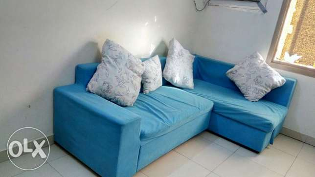 Well maintained Corner Sofa--Expat Leaving Bahrain