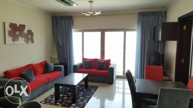 Awesome 2 BHK apartment with Gym & beautiful view/ Busaiteen