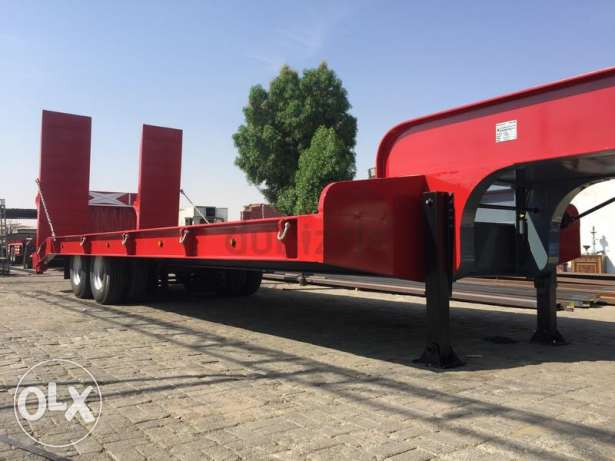 new low bed trailers for sale with warranty of five years