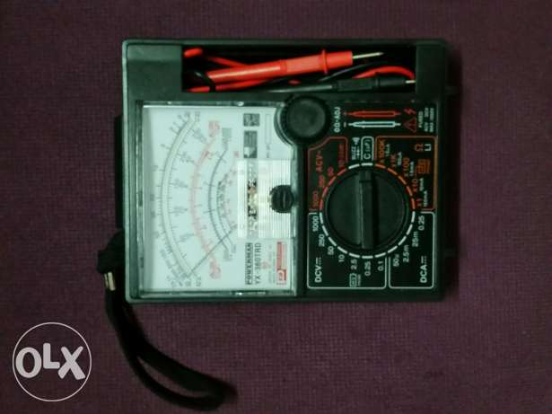 Voltmeter .. Multimeter .. For Sale .. Used Only once For Car Checking