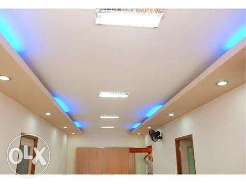 For Gypsum Ceiling services in Bahrain