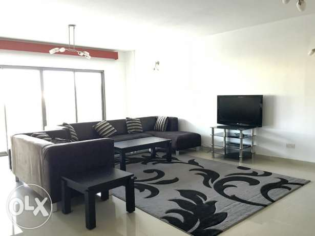 3 Bedrooms apartment with decant furniture full furnished huge balcony