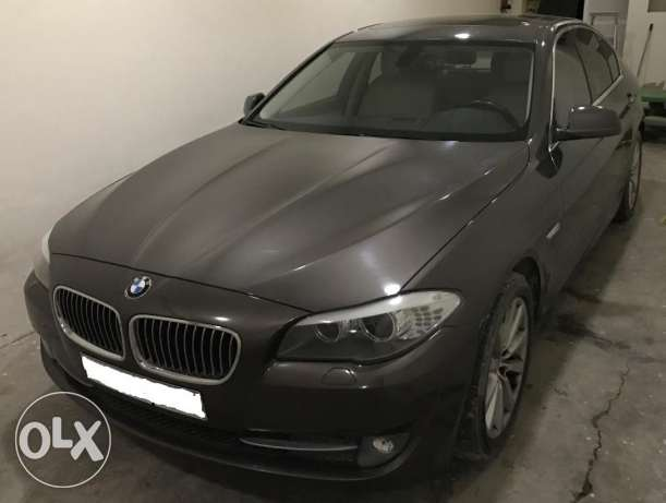 BMW 528i, 2012 TwinPower Turbo