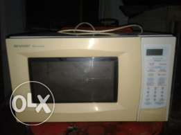 Sharp Cooking microwave ovan 10bd free delevry